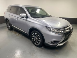 2016 Mitsubishi Outlander ZK MY17 LS 4WD Safety Pack Silver 6 Speed Sports Automatic Wagon.