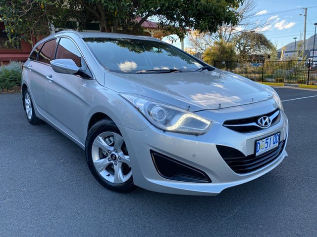Used Hyundai i40 VF Active Tourer Glenorchy, 2012 Hyundai i40 VF Active Tourer Sleek Silver 6 Speed Sports Automatic Wagon