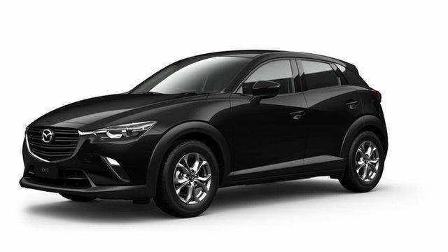 Demo Mazda CX-3 DK2W7A Maxx SKYACTIV-Drive FWD Sport Toowoomba, 2021 Mazda CX-3 DK2W7A Maxx SKYACTIV-Drive FWD Sport Black 6 Speed Sports Automatic Wagon