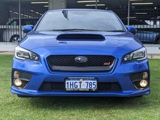 2016 Subaru WRX V1 MY17 STI AWD Premium Blue 6 Speed Manual Sedan.