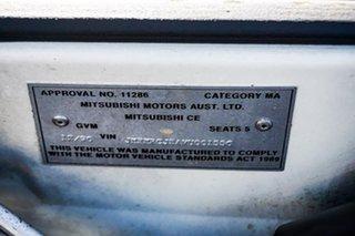 1996 Mitsubishi Mirage CE White 4 Speed Automatic Hatchback