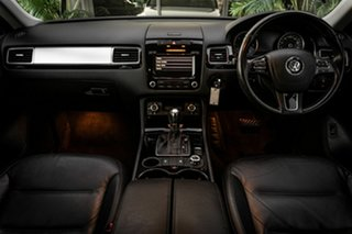 2012 Volkswagen Touareg 7P MY13 V6 TDI Tiptronic 4MOTION Grey 8 Speed Sports Automatic Wagon