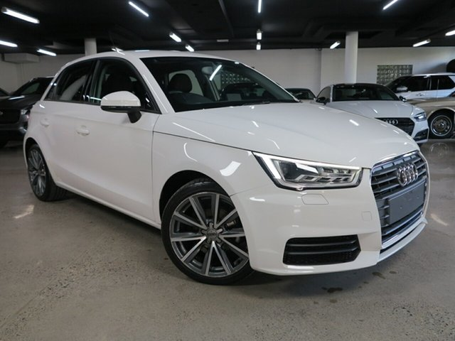 Used Audi A1 8X MY18 Sportback S Tronic Albion, 2018 Audi A1 8X MY18 Sportback S Tronic White 7 Speed Sports Automatic Dual Clutch Hatchback