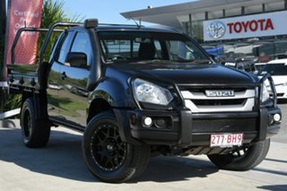 2015 Isuzu D-MAX MY15 SX Space Cab Black 5 Speed Sports Automatic Cab Chassis.