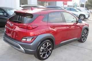 2021 Hyundai Kona Os.v4 MY21 Highlander 2WD Pulse Red 8 Speed Constant Variable Wagon.