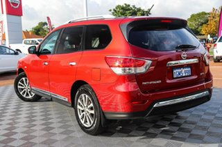 2014 Nissan Pathfinder R52 MY14 ST-L X-tronic 2WD Red 1 Speed Constant Variable Wagon.