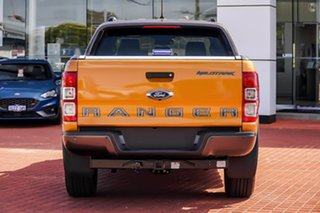 2020 Ford Ranger PX MkIII 2021.25MY Wildtrak Orange 10 Speed Sports Automatic Double Cab Pick Up.