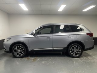 2016 Mitsubishi Outlander ZK MY17 LS 4WD Safety Pack Silver 6 Speed Sports Automatic Wagon