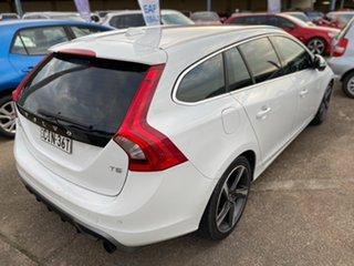 2012 Volvo V60 F Series MY13 T5 PwrShift White 6 Speed Sports Automatic Dual Clutch Wagon