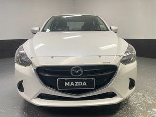 2016 Mazda 2 DJ2HA6 Maxx SKYACTIV-MT White 6 Speed Manual Hatchback.