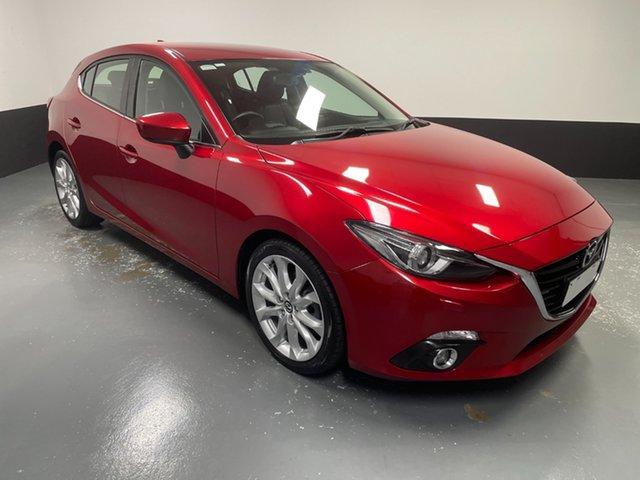 Used Mazda 3 BM5438 SP25 SKYACTIV-Drive Cardiff, 2016 Mazda 3 BM5438 SP25 SKYACTIV-Drive Red 6 Speed Sports Automatic Hatchback