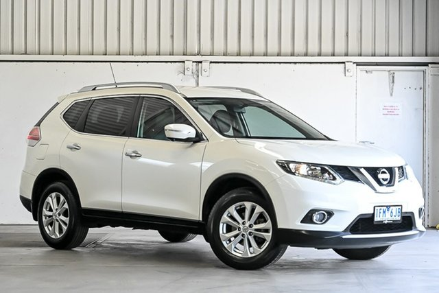 Used Nissan X-Trail T32 ST-L X-tronic 2WD Laverton North, 2015 Nissan X-Trail T32 ST-L X-tronic 2WD White 7 Speed Constant Variable Wagon