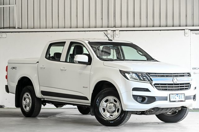 Used Holden Colorado RG MY16 LS Crew Cab Laverton North, 2016 Holden Colorado RG MY16 LS Crew Cab White 6 Speed Sports Automatic Utility
