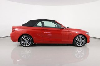 2015 BMW 220i F23 Sport Line Red 8 Speed Automatic Convertible