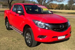 2016 Mazda BT-50 UR0YF1 XT Red 6 Speed Sports Automatic Utility.