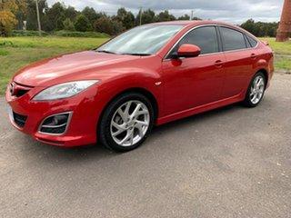 2010 Mazda 6 GH Series 2 Luxury Red Sports Automatic Sedan.