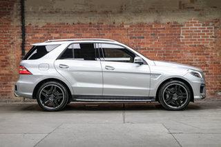 2013 Mercedes-Benz M-Class W166 ML63 AMG SPEEDSHIFT DCT Iridium Silver 7 Speed.