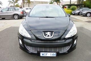 2008 Peugeot 308 T7 XTE Nero Black 6 Speed Sports Automatic Hatchback.