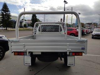 2020 Mitsubishi Triton MR MY21 GLX White 6 Speed Manual Cab Chassis.