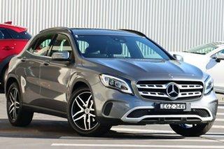 2018 Mercedes-Benz GLA-Class X156 809MY GLA180 DCT Grey 7 Speed Sports Automatic Dual Clutch Wagon.