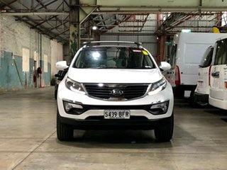 2011 Kia Sportage SL MY12 Platinum White 6 Speed Sports Automatic Wagon.