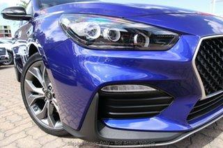 2020 Hyundai i30 PD.V4 MY21 N Line D-CT Intense Blue 7 Speed Sports Automatic Dual Clutch Hatchback.