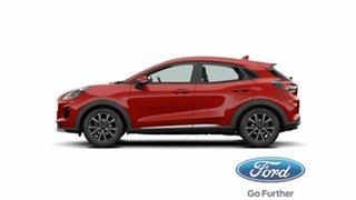 2020 Ford Puma JK 2020.75MY Puma Lucid Red 7 Speed Sports Automatic Dual Clutch Wagon.