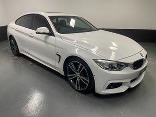2016 BMW 4 Series F36 430i Gran Coupe M Sport Alpine White 8 Speed Sports Automatic Hatchback.