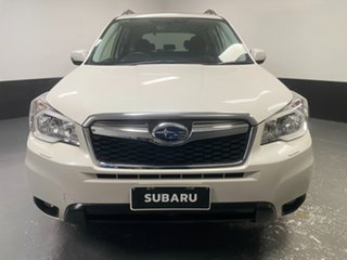 2015 Subaru Forester S4 MY15 2.0D-S CVT AWD White 7 Speed Constant Variable Wagon.