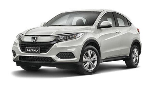 New Honda HR-V MY21 VTi Cardiff, 2021 Honda HR-V MY21 VTi Platinum White 1 Speed Constant Variable Hatchback