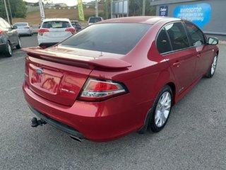 2009 Ford Falcon FG XR6 Red 5 Speed Sports Automatic Sedan.