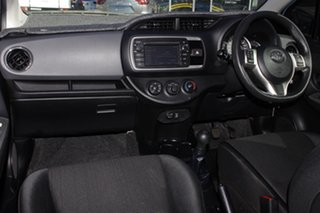 2014 Toyota Yaris NCP130R Ascent Blue 5 Speed Manual Hatchback