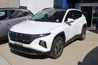 2021 Hyundai Tucson NX4.V1 Highlander White Cream 6 Speed Automatic SUV.