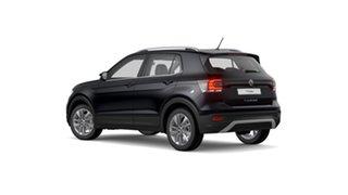 2021 Volkswagen T-Cross C1 85TSI Style Deep Black Pearl Effect 7 Speed Semi Auto SUV.