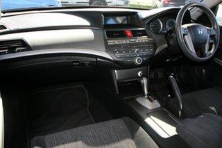 2012 Honda Accord 8th Gen MY11 VTi White 5 Speed Sports Automatic Sedan