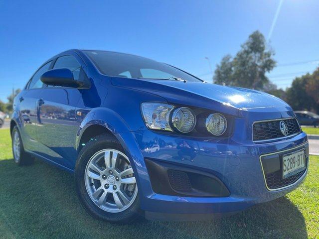 Used Holden Barina TM MY14 CD Hindmarsh, 2014 Holden Barina TM MY14 CD Blue 6 Speed Automatic Sedan