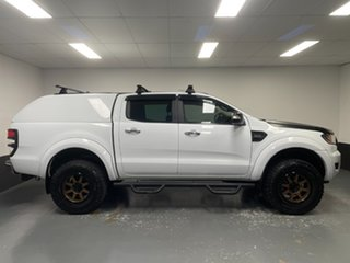 2018 Ford Ranger PX MkII 2018.00MY XLT Double Cab Frozen White 6 Speed Sports Automatic Utility