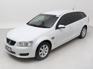 2010 Holden Commodore VE II Omega White 6 Speed Automatic Sportswagon