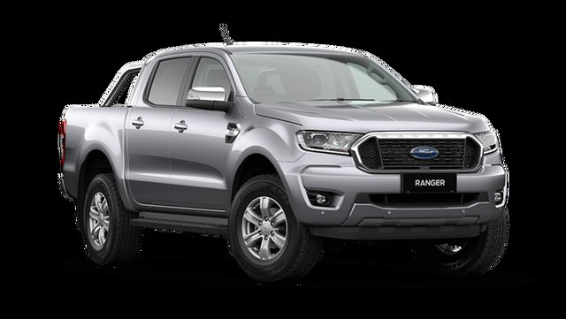 New Ford Ranger XLT Double Cab Cardiff, 2021 Ford Ranger PX MkIII XLT Double Cab Aluminium 6 Speed Automatic Pick Up