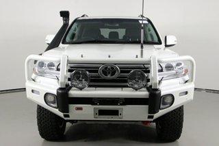 2018 Toyota Landcruiser VDJ200R MY16 VX (4x4) Crystal Pearl 6 Speed Automatic Wagon.