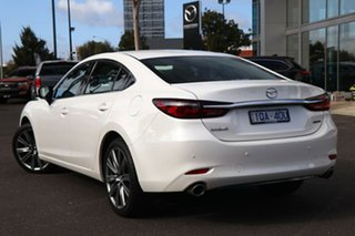 2020 Mazda 6 GL1033 Atenza SKYACTIV-Drive Snowflake White Pearl 6 Speed Sports Automatic Sedan.
