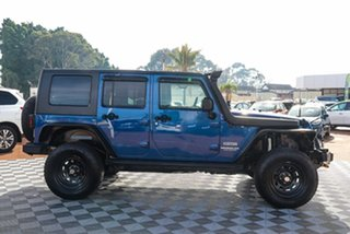 2010 Jeep Wrangler JK MY2010 Unlimited Sport Blue 5 Speed Automatic Softtop