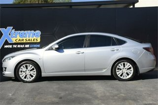 2009 Mazda 6 GH1051 MY09 Classic Silver 5 Speed Sports Automatic Hatchback