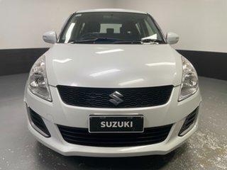 2015 Suzuki Swift FZ MY15 GL Navigator White 5 Speed Manual Hatchback.