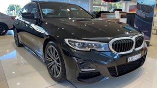 2020 BMW 3 Series G20 320i Steptronic M Sport Black Sapphire 8 Speed Sports Automatic Sedan.