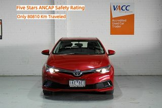 2017 Toyota Corolla ZRE182R Ascent S-CVT Red 7 Speed Constant Variable Hatchback.
