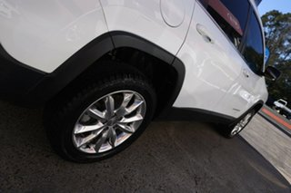 2015 Jeep Cherokee KL MY16 Limited White 9 Speed Sports Automatic Wagon