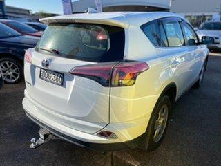 2016 Toyota RAV4 ZSA42R GX 2WD White 7 Speed Constant Variable Wagon.