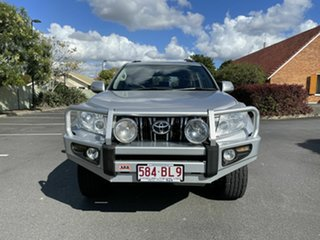 2010 Toyota Landcruiser Prado KDJ150R GXL Silver 5 Speed Automatic Wagon