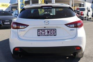 2016 Mazda 3 BM5438 SP25 SKYACTIV-Drive GT Snow White Pearl 6 Speed Sports Automatic Hatchback